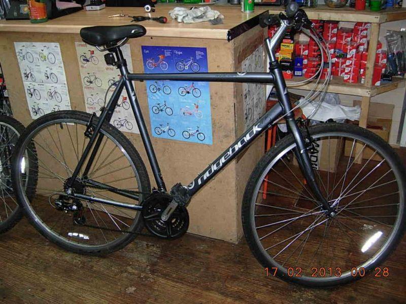 Our Bikes Secondhand Bikes Hybrid Bikes Ridgeback Motion