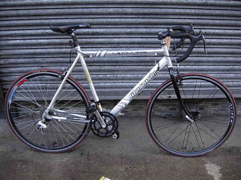 Maruishi Road Bike http://www.camdencycles.co.uk/our-bikes/racing-bikes/maruishi-l-604-racer/prod_143.html?catId=81