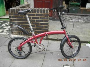 Ammaco Foldup Bike Ammaco Foldup Bike In London Olympic