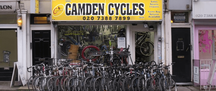Camden Cycles Shop